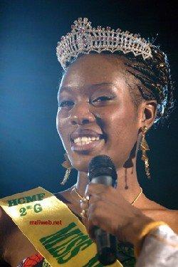 Miss Mali-France 2008 - La nouvelle ambassadrice de la beauté franco-malienne s'appelle Khoumba Fofana
